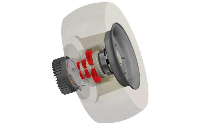 AGV Nabengetriebe