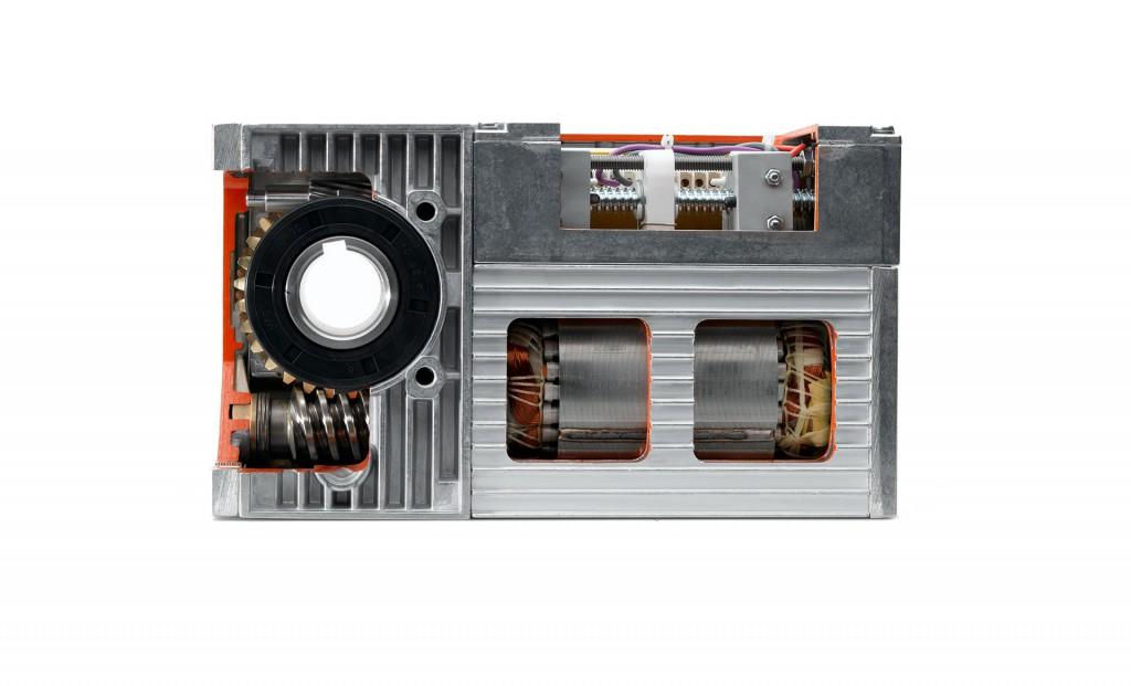 Schneckengetriebemotor Compacta MS12 Schnittmodell