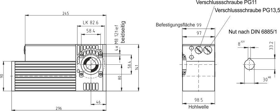 GS12 Maßzeichnung