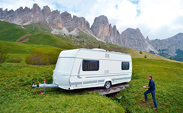 Caravan-Mover Stirnradgetriebe
