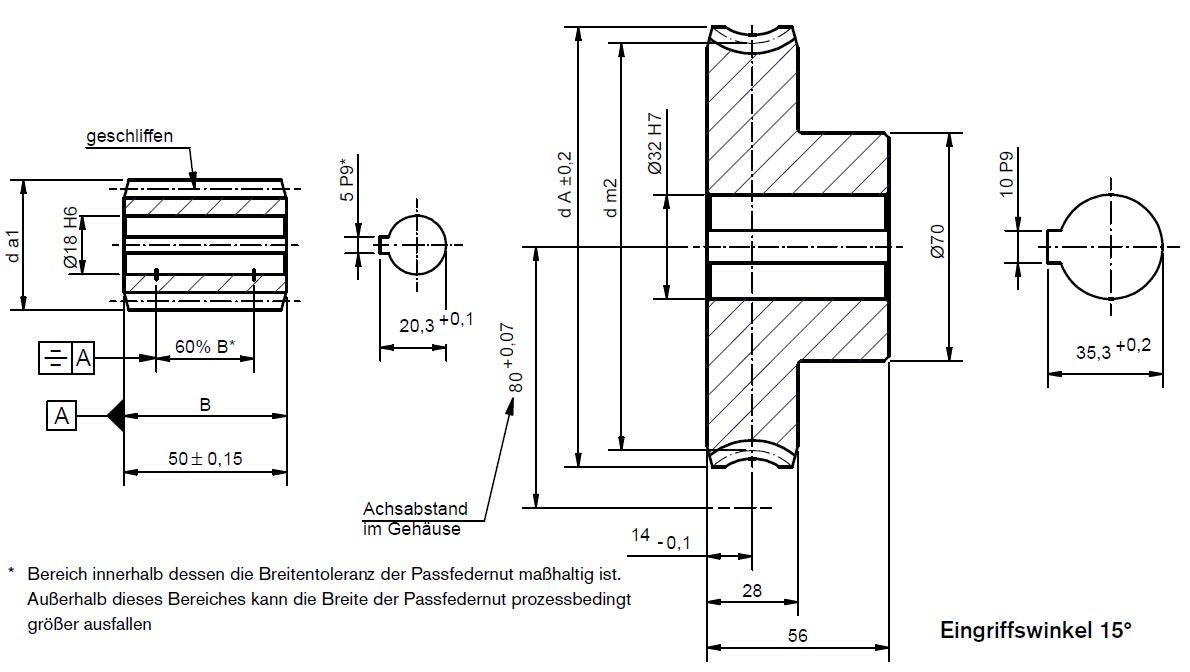 Schneckenradsatz A80